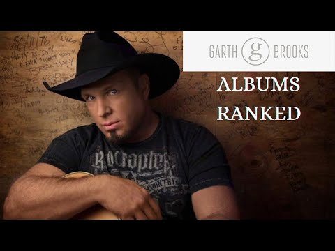 Garth Brooks Album  Rankings