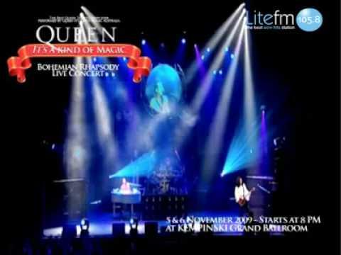 Queen Live Concert In Jakarta