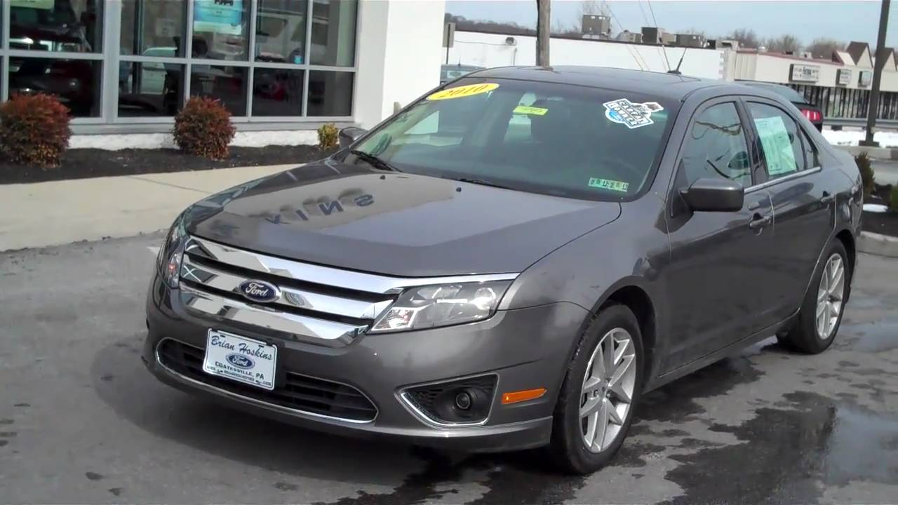 2010 ford fusion sel v6 fwd for sale brian hoskins ford youtube