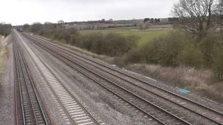 5 Tone! DCR Class 56 56312 Passes Cossington Working Chadesden - Willesden. 21/04/2013