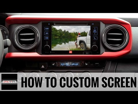 How to add a custom image to a Toyota Tacoma (and/or other Toyota models) - LoyalDriven