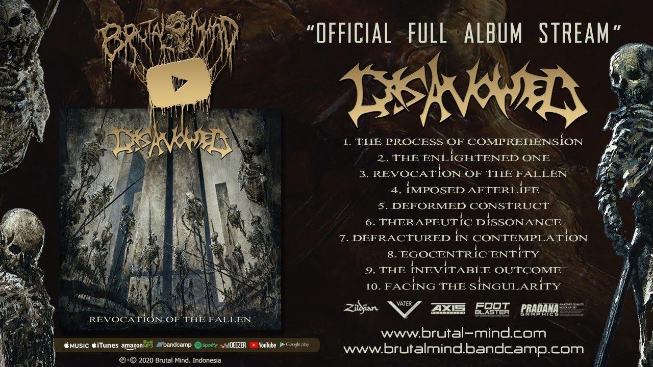 Disavowed - Revocation of the Fallen | Full Album Stream | Brutal Mind 2020