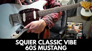 Squier Classic Vibe 60s Mustang Review Demo