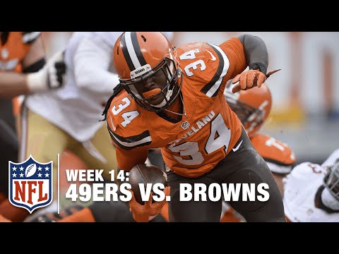 Isaiah Crowell Finds Daylight & Sprints for 50 Yards! | 49ers vs. Browns | NFL