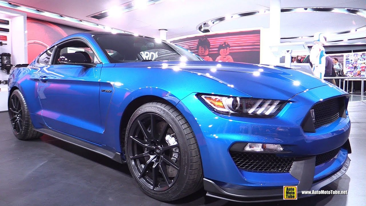 2018 Ford Mustang Shelby Gt350 Exterior And Interior Walkaround Detroit Auto Show