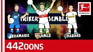 Hazard, Gomez or Kramaric For Striker No.1? - World Cup Dream Team Rap Battle - Powered by 442oons