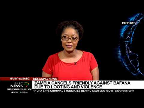 BREAKING NEWS:  Zambia Cancels Friendly Match Against Bafana