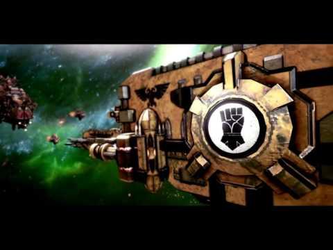 (Русский перевод #Fordar) Battlefleet Gothic: Armada - Space Marines Trailer