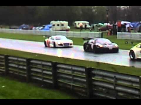 Audi R8, British GT3 championship.
