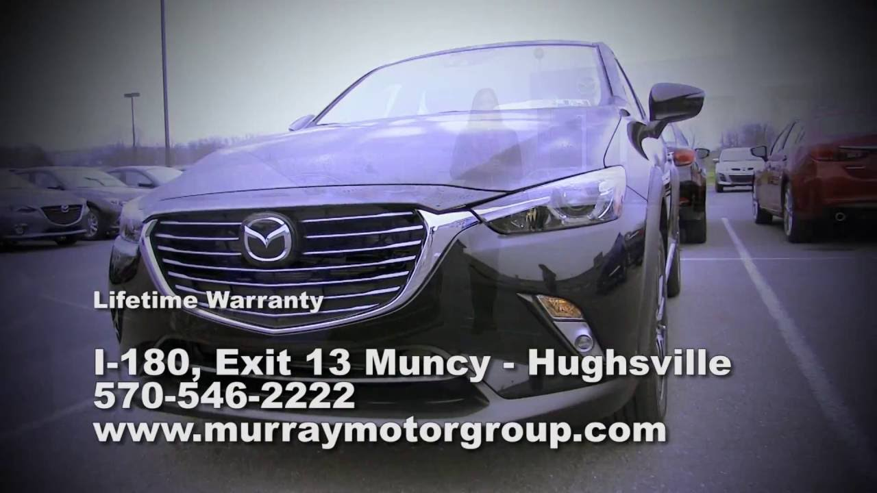 Murray motors mazda commercial 2015 youtube for Murray motor company muncy pa