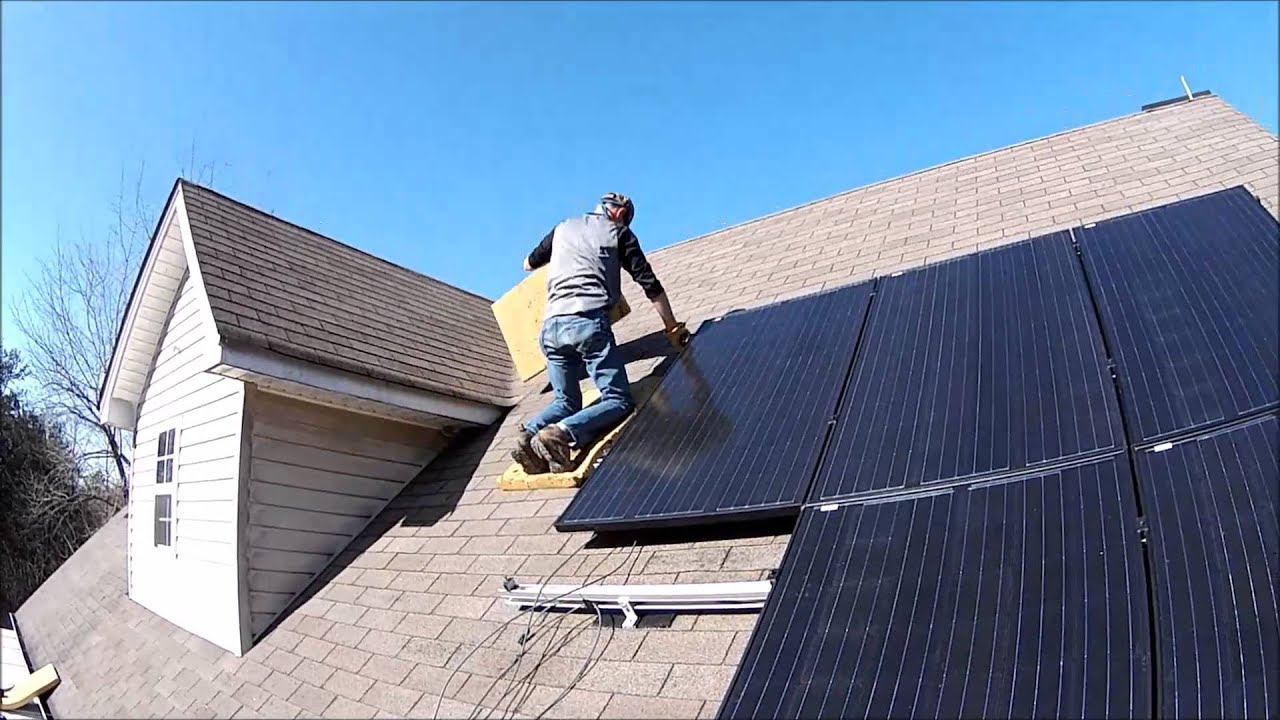 Roof Shingle Pads Work Safely On Shingles Solar Install