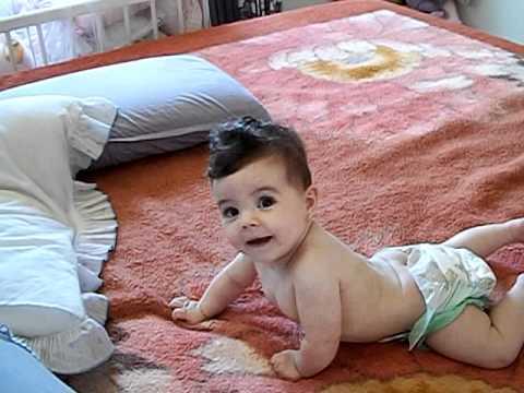Inacreditavel bebe com 5 meses anda de costas youtube - Cereales bebe 5 meses ...
