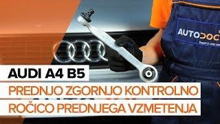 Kako zamenjati Vilica AUDI A5 Sportback (F5A) - video priročniki po korakih