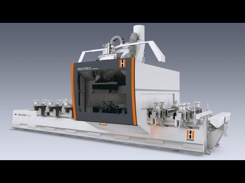 WEINIG/HOLZ-HER The MULTIREX CNC Machining Center.