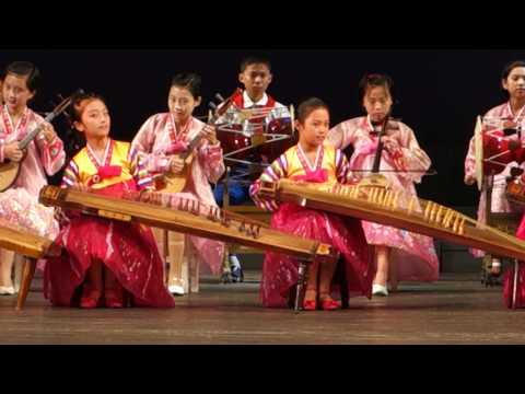 Childrens' Music Performance in North Korea