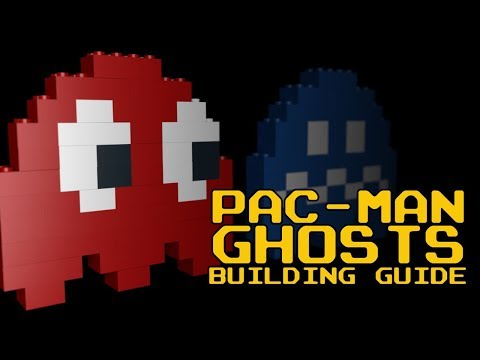 🛠️ LEGO Pac-Man Ghosts Building Guide - Blockstad How-to Video