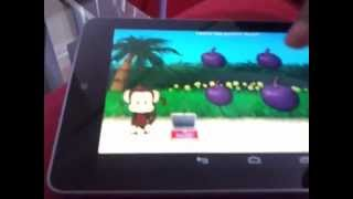My review of Monkey preschool lunchbox on my nexus 7