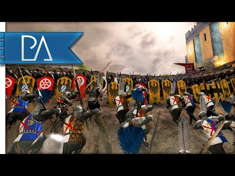 GREAT STRATEGIC MEDIEVAL SIEGE - Medieval Kingdoms Total War 1212AD Mod Gameplay
