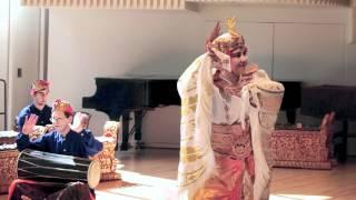 Gamelan Concert at Swarthmore 2012