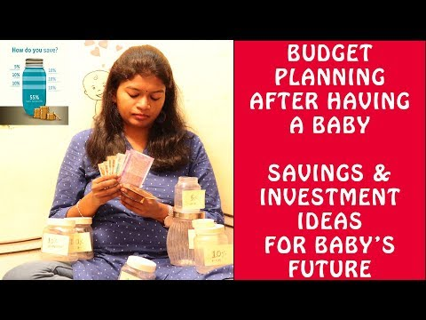 budget-planning-after-a-baby-|-savings-&-investment-for-baby's-future-|jar-method