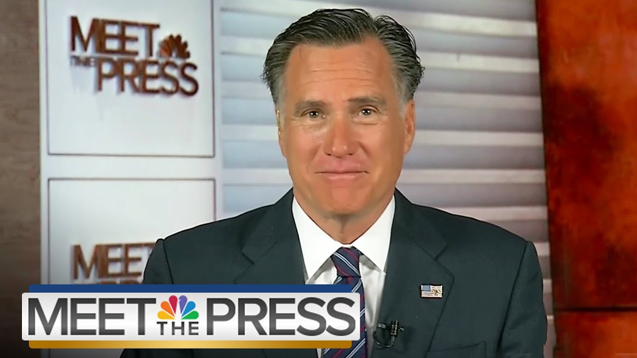 mitt romney on meet the press