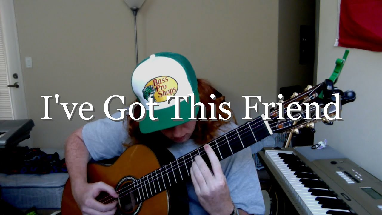 Ive Got This Friend The Civil Wars Fingerstyle Guitar Cover