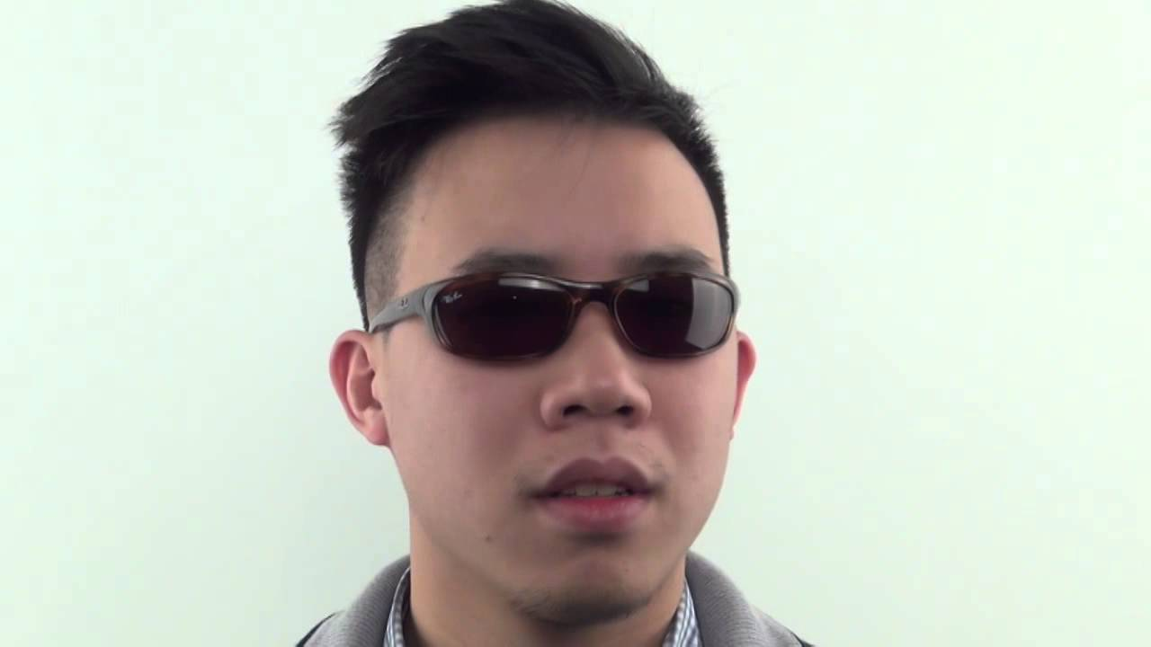 7af53a764f Ray-Ban RB4115 642 73 Sunglasses - VisionDirect Reviews - YouTube