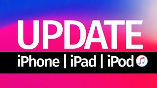 How to Update iPhone iPad iPod touch using laptop computer | iOS 12 | Mac & PC