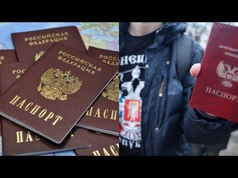Валерий Пякин о выдаче паспортов РФ жителям Донбасса