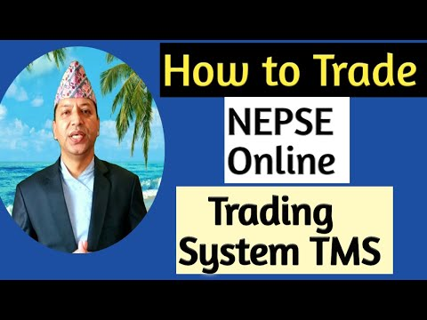 How To Trade NEPSE  Online Trading System ? Part-1
