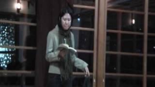 金子光晴詩集「鮫」から、洪美怜の朗読で「どぶ」