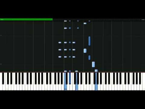Lily Allen - 22 [Piano Tutorial] Synthesia | passkeypiano