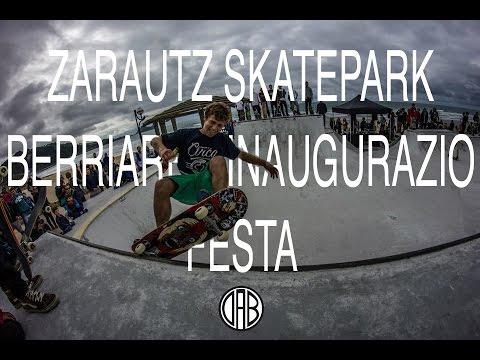 DAB PRODUCTIONS PRESENTA::: ZARAUTZ SKATEPARK BERRIAREN INAUGURAZIO FESTA