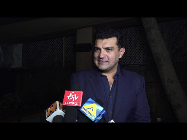 Siddharth Roy Kapur & Philip Murphy At MOU Signing Ceremony Of The New Jersey Motion Picture With Pr