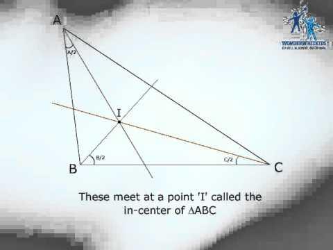 In radius & In Circle