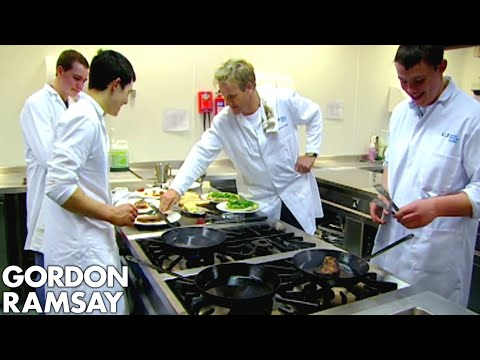 Thumbnail: Chef Ramsay Teaches Amateur Butchers How to Cook A Perfect Steak - Gordon Ramsay