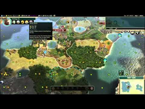 Civilization V - By Land & Sea (Anglo German Alliance) Episode 4