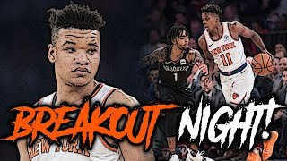 Did Kevin Knox Make It BACK Into The Starting 5 and FRANK IS BACK!