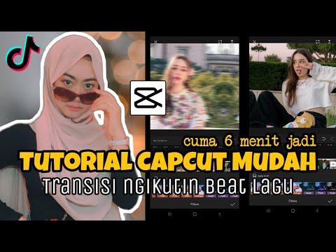 Tutorial Edit Video Transisi CAPCUT Jedag-Jedug Viral Di Tiktok Mudah Cuma 6 Menit Jadi 🔥