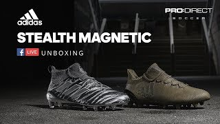 PRO DIRECT   Unboxing: adidas Stealth Magnetic Pack