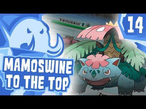 """MAMOSWINE TO THE TOP!"" #14 Pokemon Ultra Sun & Moon! OU Showdown Live w/PokeaimMD"