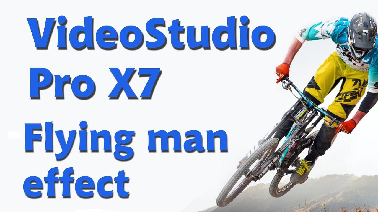 corel videostudio pro x7 flying man landing effect youtube. Black Bedroom Furniture Sets. Home Design Ideas