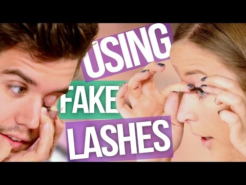 5 Tips for Applying False Eyelashes (Beauty Break )