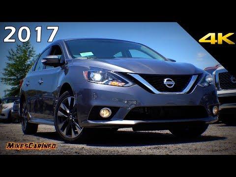 2017 Nissan Sentra SR Turbo Detailed Look in 4K