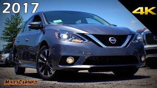 2017 Nissan Sentra SR Turbo - Detailed Look in 4K