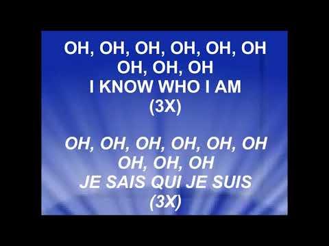 I KNOW WHO I AM - JE SAIS QUI JE SUIS - Sinach