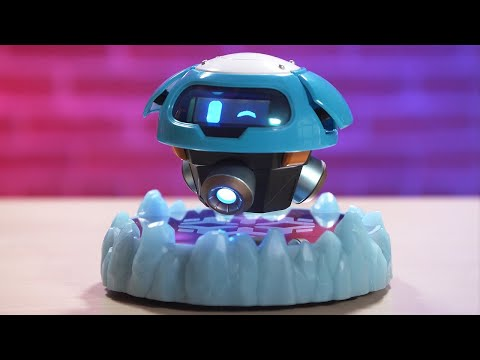 Overwatch Magnetic Levitating Snowball Unboxing