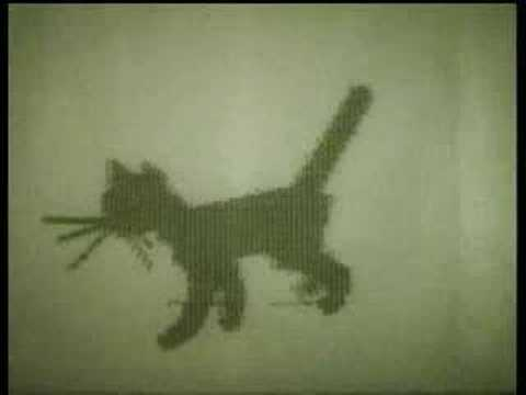 """Kitten"" 1968 computer animation"