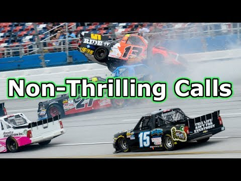 Not-So-Thrilling Calls in NASCAR