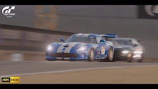 Gran Turismo Sport - Gr.4 Race at WeatherTech Raceway Laguna Seca [4K HDR PS4 Pro]